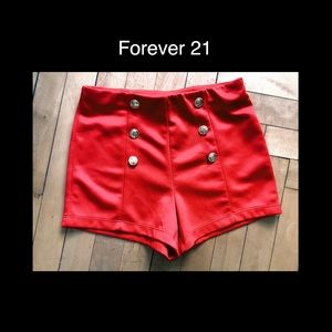 FOREVER 21 Orange 🍊 Small Hot Pants